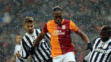 «Галатасарай» в драматичном матче вырывает путевку в плей-офф Лиги чемпионов