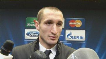 Кьеллини: «Мы много очков потеряли на старте группового этапа»