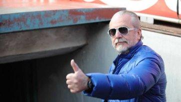 Де Лаурентис: «Бенитес будет тренировать «Наполи» в ближайшие восемь лет»
