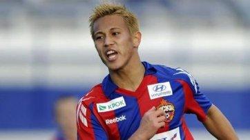 Кейсуке Хонда будет играть в «Милане» минимум три года