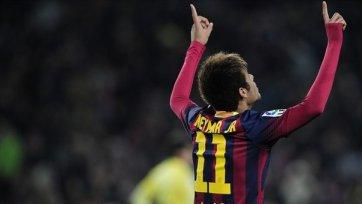 Дубль Неймара – победа «Барселоны»