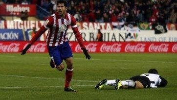 «Атлетико» разбивает «Валенсию»