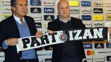 У «Партизана» в девятый раз сменился тренер