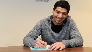 Официально: Суарес продлил контракт с «Ливерпулем»