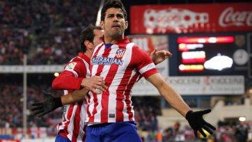 «Атлетико» в увлекательном поединке одолел «Леванте»