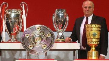 Ули Хенесс горд быть президентом «Баварии»