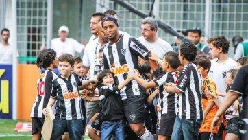 Роналдиньо может продолжить карьеру в «Палмейрасе»