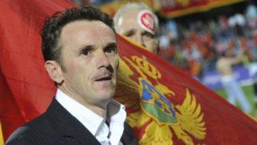 Брнович продолжит тренировать сборную Черногории