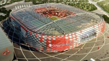 Новая арена «Спартака» будет открыта в июле 2014 года
