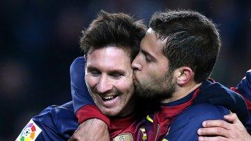 Альба: «Вне зависимости от наград Месси остается величайшим футболистом»