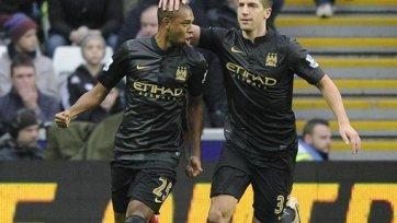 «Манчестер Сити» выцарапывает победу над «Суонси»