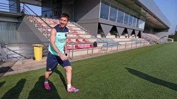 Лионель Месси готовится к первой тренировке в 2014 году!