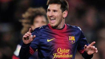 Месси будет зарабатывать в «Барселоне» 21 миллион евро!