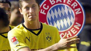 Официально: Летом Левандовски станет футболистом «Баварии»
