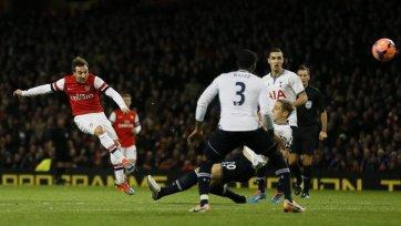 «Арсенал» вновь сильнее в дерби северного Лондона