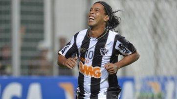 «Бешикташ» не теряет надежды подписать Роналдиньо