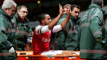 «Арсенал» на месяц теряет Уолкотта