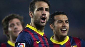 Фабрегас: «Если хотим выиграть чемпионат, нужно обыграть «Атлетико»