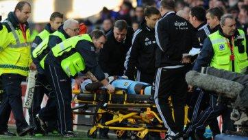 Ги Демель доставлен в больницу с травмой головы