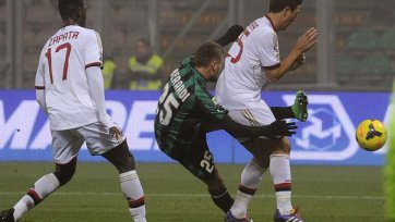 Геройства Берарди шокируют «Милан»