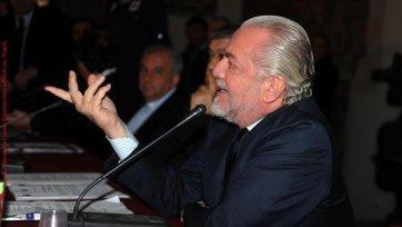Аурелио де Лаурентис доволен выступлением «Наполи»