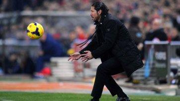 Симеоне: «В Кубке Испании у нас с «Валенсией» равные шансы»