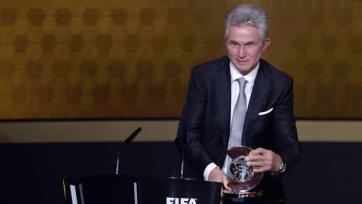 Хайнкес: Я счастлив получить эту награду после 50-ти лет в футболе»