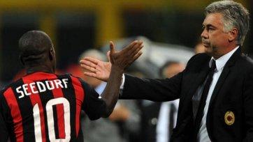 Анчелотти: «У Зеедорфа есть способности для того, чтобы помочь «Милану» уже в этом сезоне»