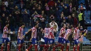 «Атлетико» проходит «Валенсию» в Кубке Испании