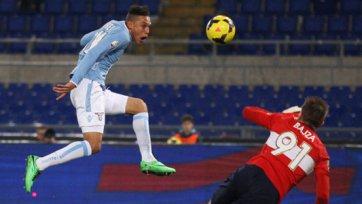«Лацио» шагает в четвертьфинал Кубка Италии