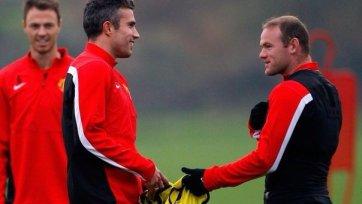 «МЮ» на матч против «Челси» выйдет без Руни и ван Перси