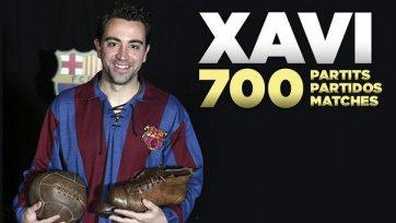 Хави: «700 матчей – фантастическая отметка»