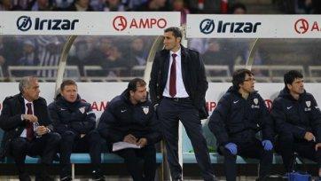 Вальверде: «Это был один из лучших матчей «Атлетика» в сезоне»