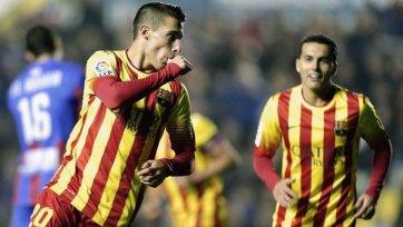 «Барса» разобралась с «Леванте» в Кубке Испании
