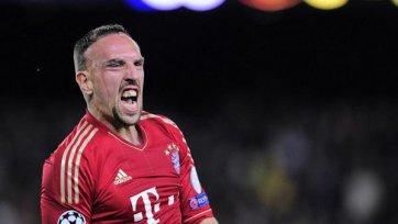 Рибери: «Бавария» вновь идет к золотому хет-трику»