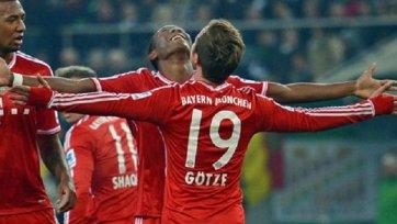 «Бавария» начинает год с уверенной победы