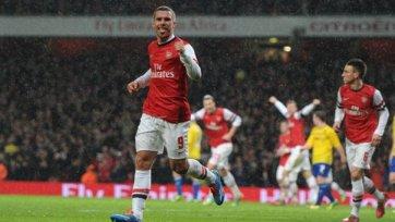 «Арсенал» легко переиграл «Ковентри» в Кубке Англии