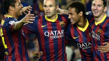 Матч с «Малагой» пропустит ряд игроков «Барселоны»