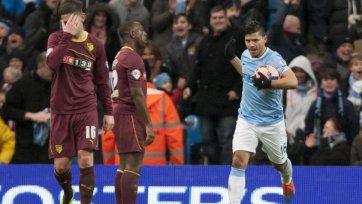 «Манчестер Сити» добыл волевую победу над «Уотфордом»