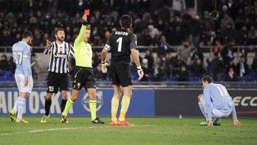 «Лацио» прерывает победную серию «Ювентуса»