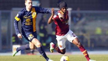«Рома» сократила отставание от «Ювентуса» до шести очков