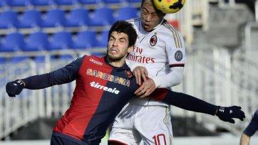 «Милан» творит камбэк в матче с «Кальяри»