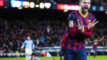 «Барселона» не испытала проблем с «Малагой»