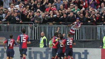 Футбольные власти Италии наказали фанатов «Кальяри»