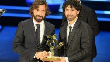 Андреа Пирло – футболист года в Серии А