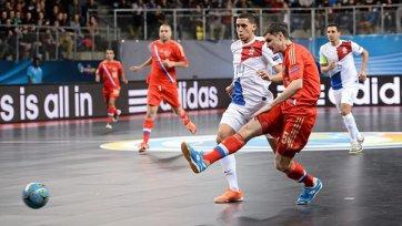 Футзальная сборная России разбила голландцев