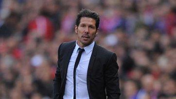 Симеоне: «»Атлетико» создал больше голевых моментов»