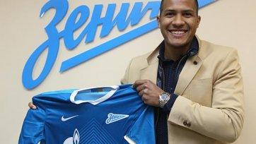 Официально: Рондон подписал пятилетний контракт с «Зенитом»