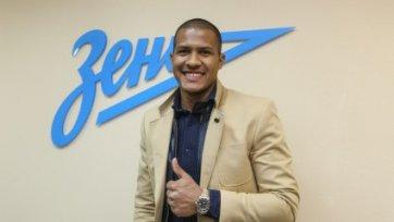 Саломон Рондон прокомментировал свой переход в «Зенит»