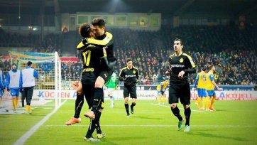 Дортмундская «Боруссия» увозит победу из Брауншвейга